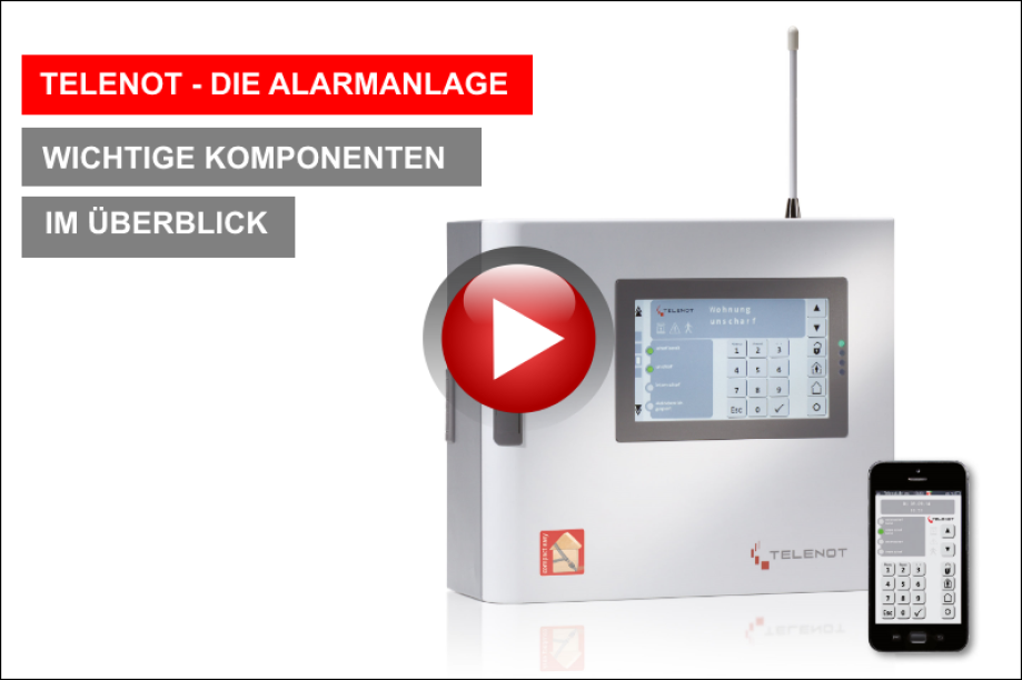 Telenot, Alarmanlage, Sicherheitstechnik, Video