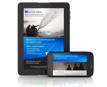 Newsletter Brandschutz, Sicherheitstechnik, Martin Sieg